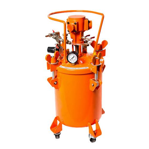 ASPRO-10L-A бак для краски с автоматической мешалкой