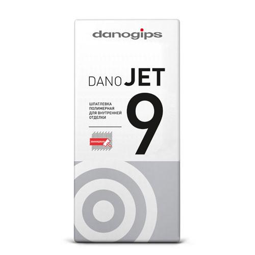 Danogips DANO JET 9 шпатлевка полимерная сухая