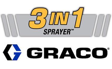 Ребрендинг безвоздушных распылителей Graco – новая линейка HD «3 в 1»