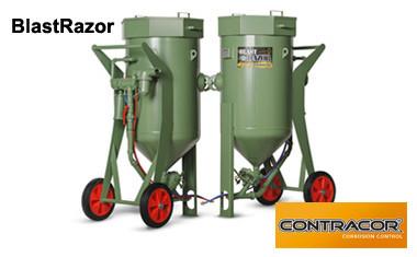 BlastRazor от Contracor - новая линейка пескоструйных бочек