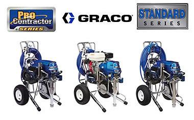 Распылители серий Standard, ProContractor и IronMan Graco