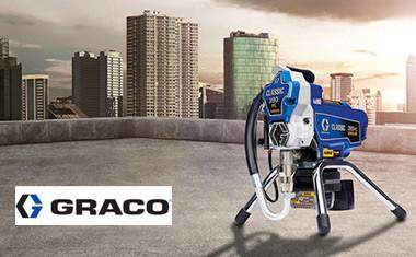 Graco представляет новые беспроводные безвоздушные краскораспылители GX21 и Classic 390 PC