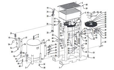 Чертежи оборудования для подготовки сжатого воздуха