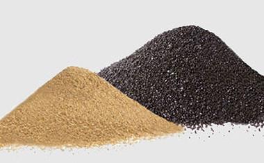 Сравнение купершлака с кварцевым песком