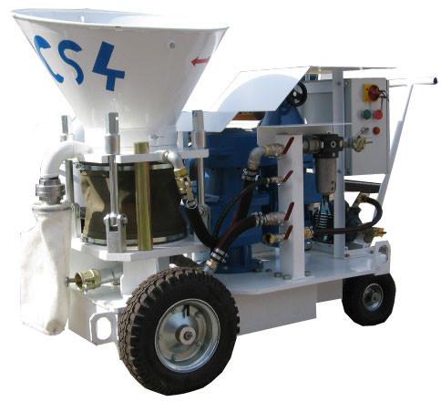 MPCS 4 Strojstav торкрет - установка